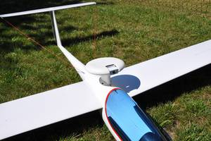 FPV RC glider with a HD camera from Sony