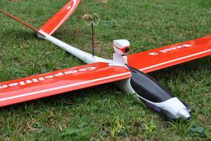 FVP, Immersionsflight, Model airplane