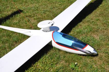 FPV RC glider with a HD camera